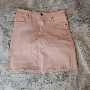 Kut From The Kloth Margaret Pink Mini Skirt Size 0